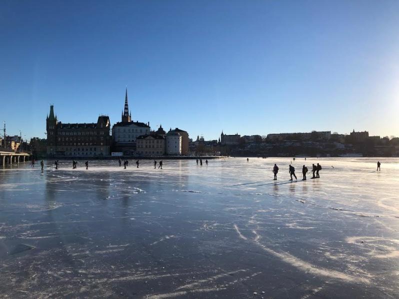 Bilden är ifrån Stockholm.