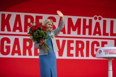 Fotograf Ebba Grape & Johannes Svensson. Copyright Socialdemokraternas partikansli.