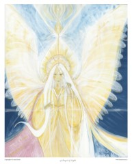 Angel of Light art print - Angel of LIght