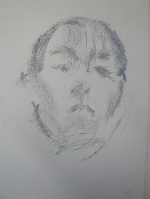 Självporträtt/ Self portrait