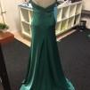 Grön festklänning stl s