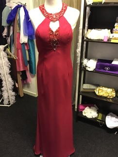 Festklänning stl 36