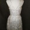 Spetsklänning stl 36