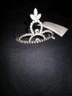 Tiara i silver