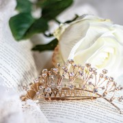 Kombinerad hårkam /tiara