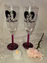 Champagneglas 2-p