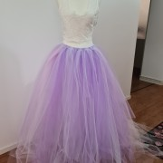 Tyll kjol rosa/lila