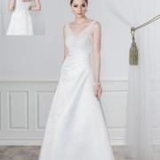 Brudklänning Megan stl xs/s