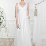 Brudklänning Lotta gravidvänlig stl xs