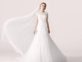 Brudklänning lilly stl 38