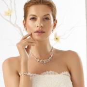 SET: Halsband, örhängen och armband