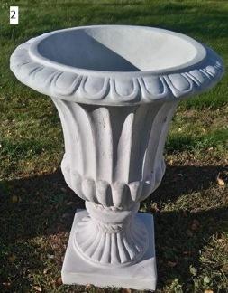 Urna 2 - Urna 2 ofärgad betong