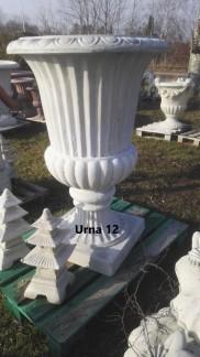 Urna 12 - Urna 12 ofärgad betong