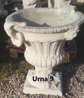 Urna 9 - Urna 9 ofärgad betong