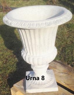 Urna 8 - Urna 8 ofärgad betong