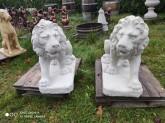 Lejon för infart mm. höger vänster