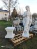 Staty - Staty kvinna med druvor utan sockel