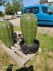 Fontän keramik - Fontän  pumpa grön