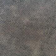 Bomullstyg grå prick (Dimples)