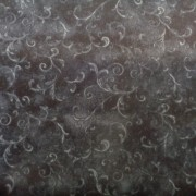 Bomullstyg svart (Essentials Filigree)