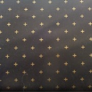 Bomullstyg svart/guld (Modern Background)