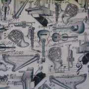 Bomullstyg musikinstrument (Music)