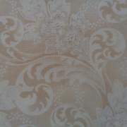 Bomullstyg beige mönster (Blue Barn Prints)