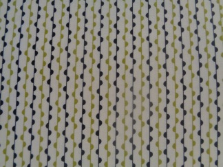 Bomullstyg lime-svart-vitt (Authentic)