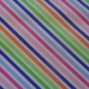 Bomullstyg rosa diagonalrand (Dot.Dot.Dash-!)