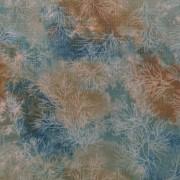 Bomullstyg blå-grönt (Fusions Mist)