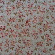 Bomullstyg beige småblommigt (Larkspur)