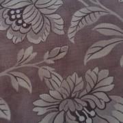 Bomullstyg lila blommor (Quill)