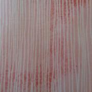 Rosa bomullstyg med vit rand