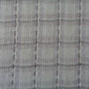 Bomullstyg grå vävd ruta