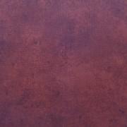 Bomullstyg melerad tegelröd (Suede)