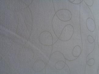 Bomullstyg vitt/vitt mönster (WHITE)