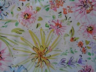 Bomullstyg pastellfärger (Butterfly)