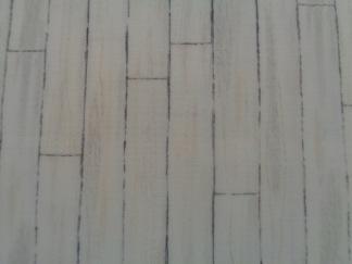Bomullstyg beige trämönster (Homegrown)