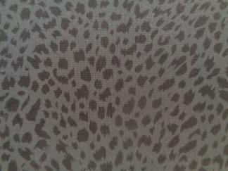 Bomullstyg grå fläck (Ebony & Ivory)