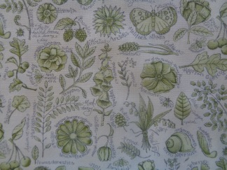 Bomullstyg gröna växter (Garden Notes)