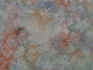 Bomullstyg grå-rost melerat (Fusions Mist)