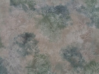 Bomullstyg grå-grönt (Fusions Mist)