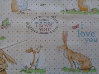 Bomullstyg kaniner (Guess How Much)