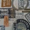 Bomullstyg tågbiljetter (Railways Express)