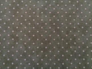 Bomullstyg grönt - ljus prick (Essential Dots)
