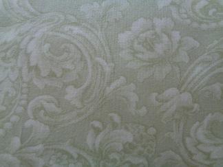 Bomullstyg ljusgrönt mönster (Mary's Blenders)