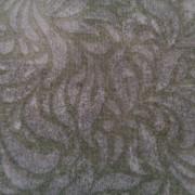 Bomullstyg gröna blad (Bella Suede)