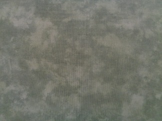 Bomullstyg grönt melerat (Marbles)