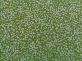 Bomullstyg gröna prickar (Bear Essentials)