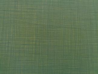Bomullstyg grönt vävd struktur (Linea Texture)